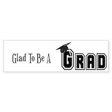 Graduation Bumper Bumper Sticker