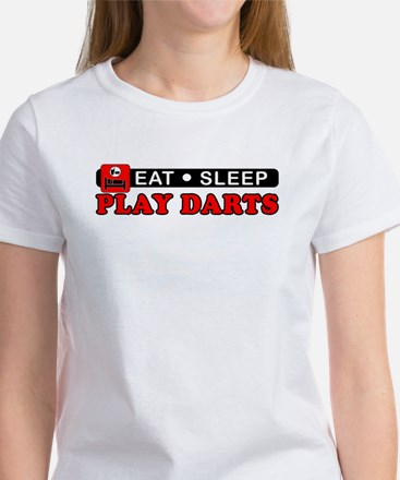 Play Darts Women's T-Shirt