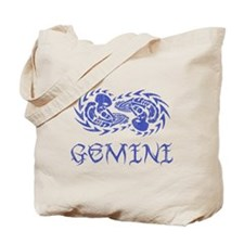 Gemini Tribal I - Vintage Tote Bag
