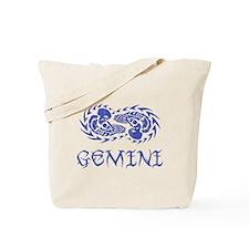 Gemini Tribal I - Vintage Tote Bag