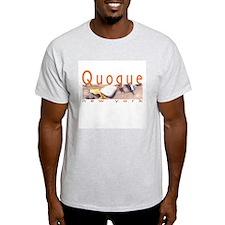 Quogue, NY Ash Grey T-Shirt
