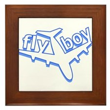 Fly Boy Framed Tile