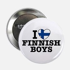 "I Love Finnish Boys 2.25"" Button"