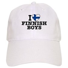 I Love Finnish Boys Baseball Cap