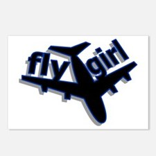 Fly Girl Postcards (Package of 8)