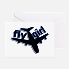 Fly Girl Greeting Cards (Pk of 10)