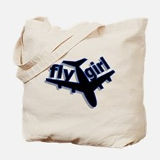 Fly Girl Tote Bag