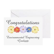 Environmental Engineer Grad Greeting Card