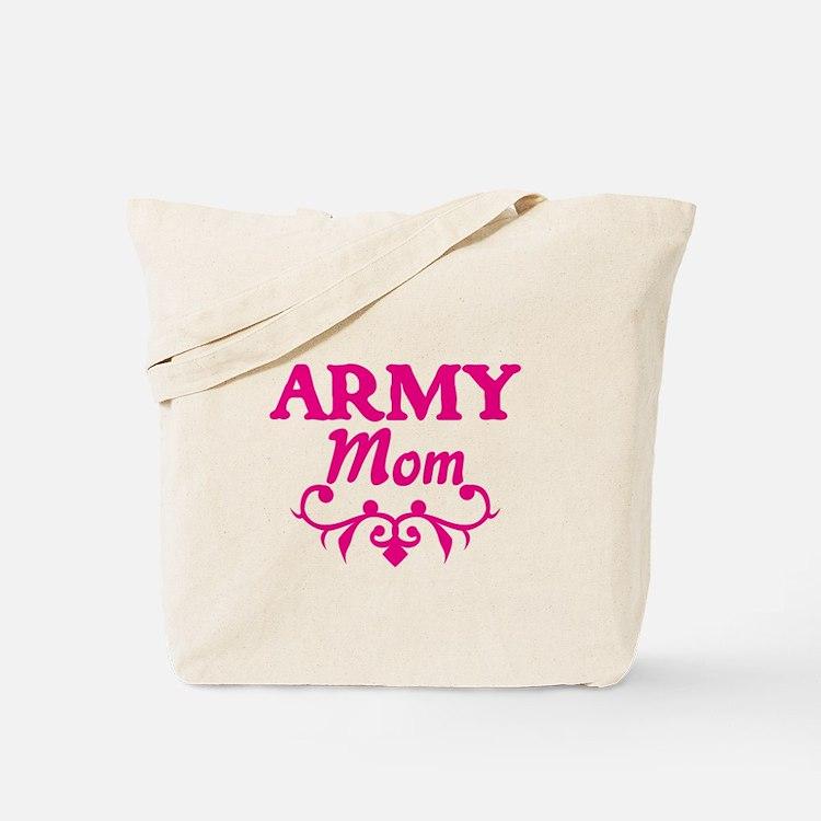 Army Mom (pink) Tote Bag