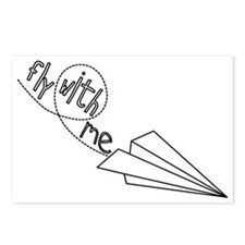 Fly With Me Postcards (Package of 8)