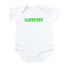 Schneider Faded (Green) Infant Bodysuit