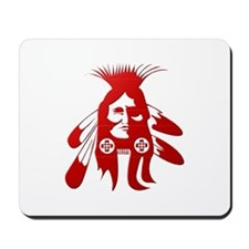 Native American Warrior #2 Mousepad