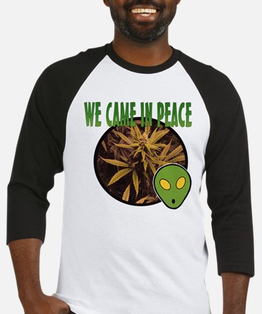 WE CAME IN PEACE Baseball Jersey