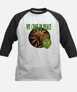 WE CAME IN PEACE Kids Baseball Jersey