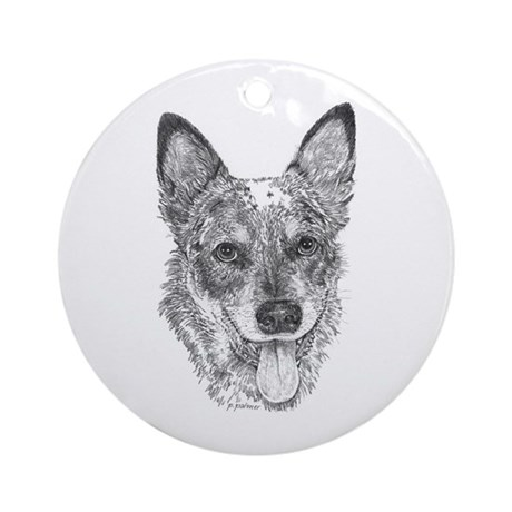Albee - Australian Cattle Dog Ornament (Round)