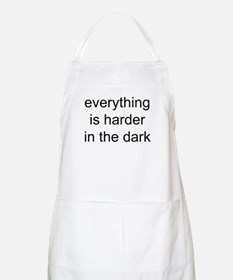 everything is harder in the d BBQ Apron
