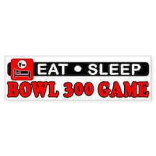 Bowl 300 Game Bumper Sticker