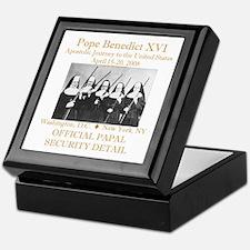 Papal Security Keepsake Box