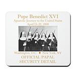 Papal Security Mousepad