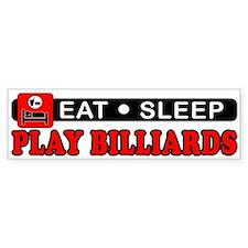Play Billiards Bumper Sticker