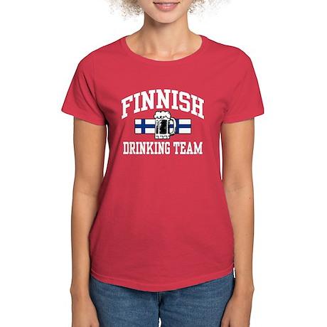 Finnish Drinking Team Women's Dark T-Shirt