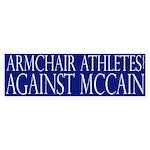 Armchair Athletes Against McCain