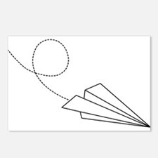 Paper Plane Postcards (Package of 8)