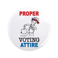 "Voting 3.5"" Button (100 pack)"