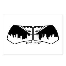 Pilot Error Postcards (Package of 8)