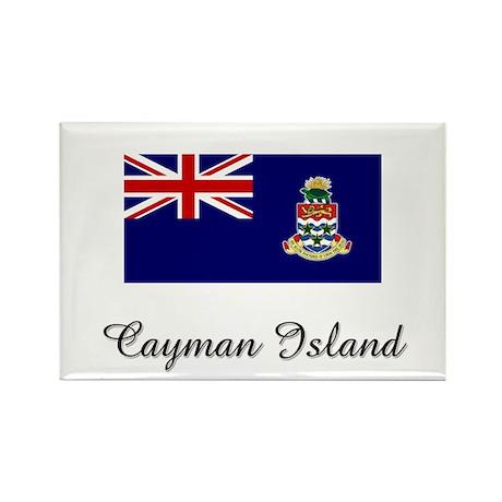 Cayman Island Flag Rectangle Magnet