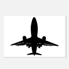 Jumbo Jet Postcards (Package of 8)