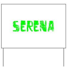 Serena Faded (Green) Yard Sign