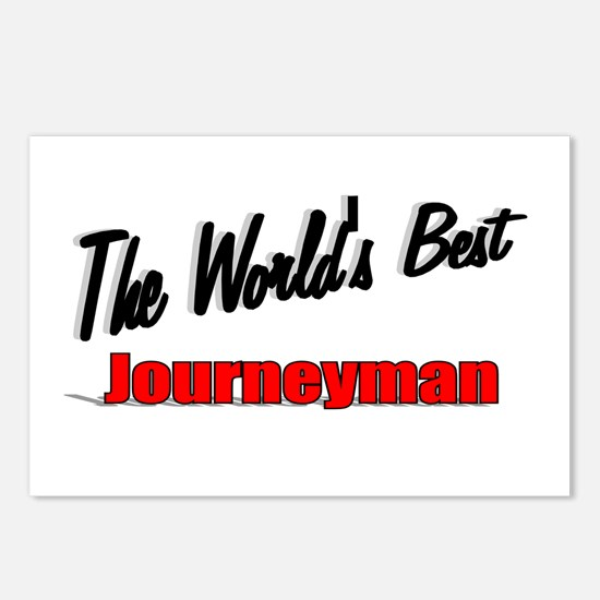 """The World's Best Journeyman"" Postcards (Package o"