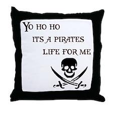 Yo Ho Ho Throw Pillow