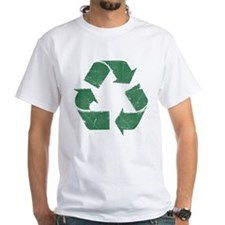 Vintage Green Recycle Sign Shirt
