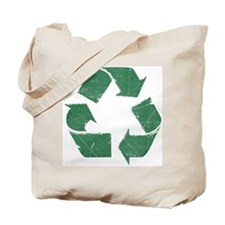 Vintage Green Recycle Sign Tote Bag