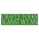 Crafty Folks Against McCain
