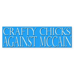 Crafty Chicks Against McCain