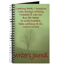 Writer Journal, Katherine Mansfield Quote