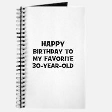 Happy Birthday To My Favorite Journal