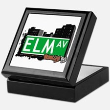 ELM AV, BROOKLYN, NYC Keepsake Box