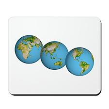 3 Globes Mousepad