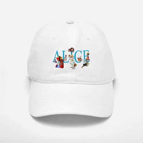 ALICE & FRIENDS IN WONDERLAND Baseball Baseball Cap