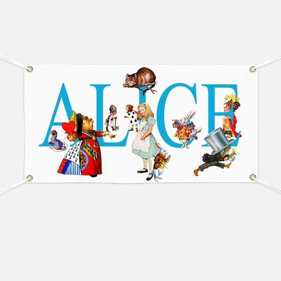ALICE & FRIENDS IN WONDERLAND Banner