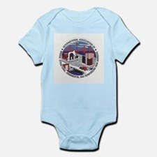 Ironworker Patch Infant Creeper