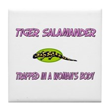 Tiger Salamander Trapped In A Woman's Body Tile Co