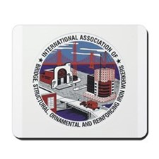 Ironworker Patch Mousepad