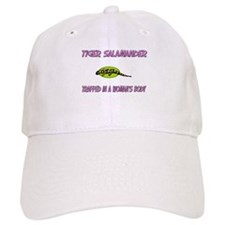 Tiger Salamander Trapped In A Woman's Body Baseball Cap