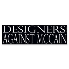 Designers Against McCain