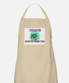 Terrapin Trapped In A Woman's Body BBQ Apron